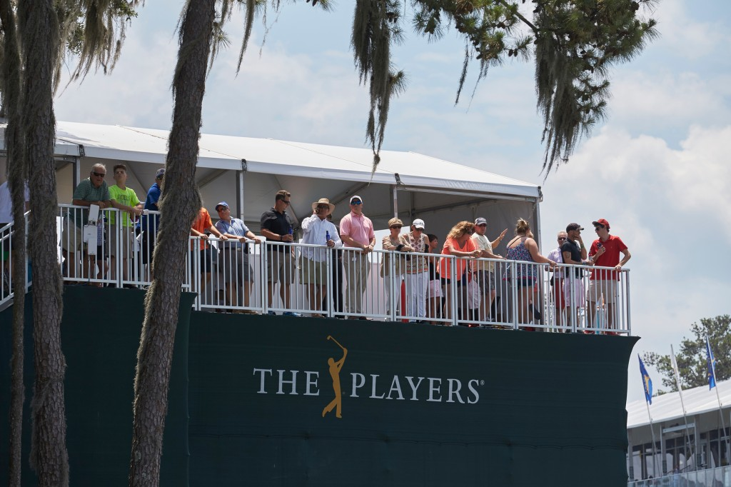 PONTE VEDRA BEACH, FL: 17th Green MD Anderson during  THE PLAYERS Championship on May 11 -15, 2016 in Ponte Vedra Beach, Florida. (Photo by Scott Stevens/PGA TOUR)