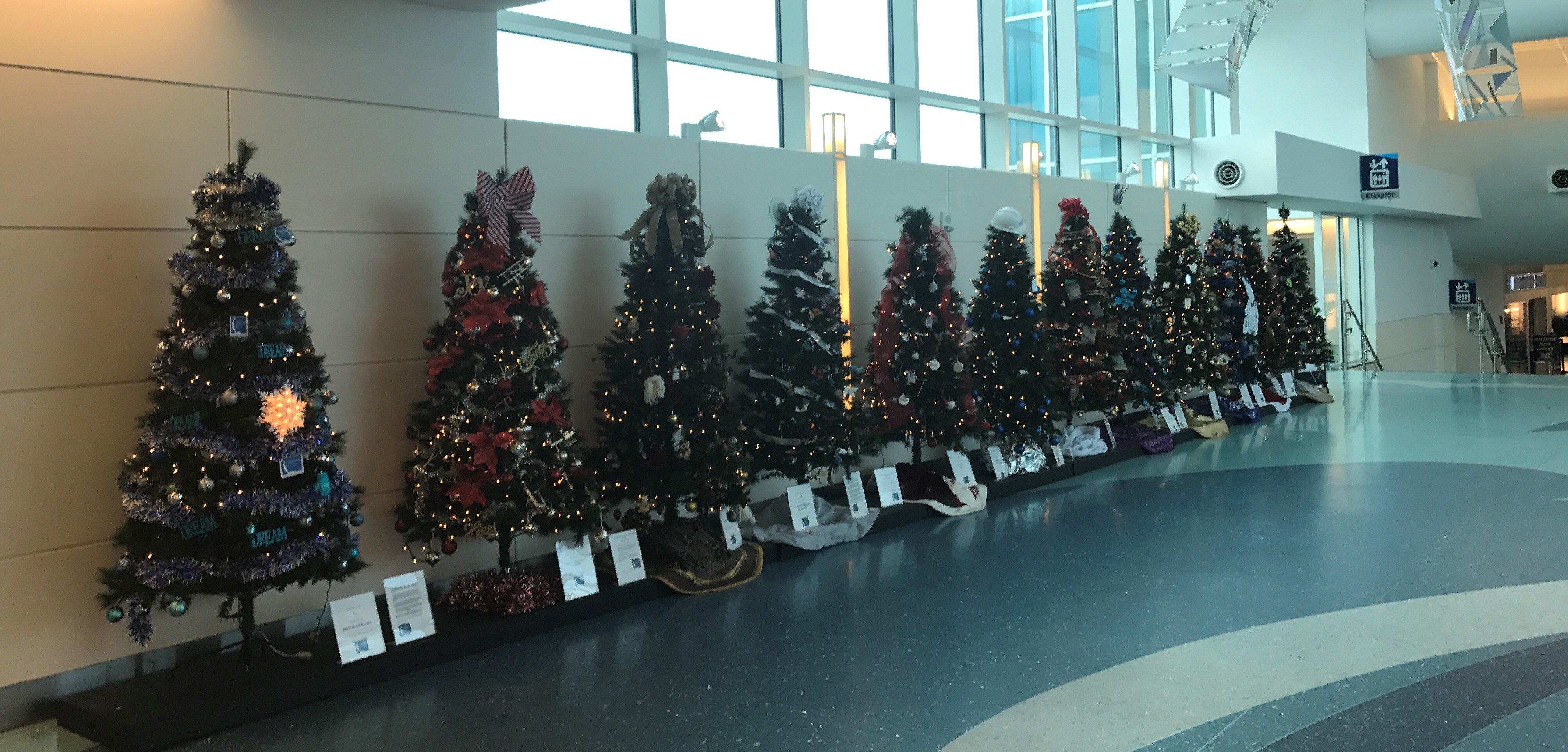 A christmas decoration that has been donated to you is a - As You Travel Through Jax This Season Or Picking Up Friends And Family Please Spend A Few Minutes To Admire The Trees Cast Your Vote And Make A Donation