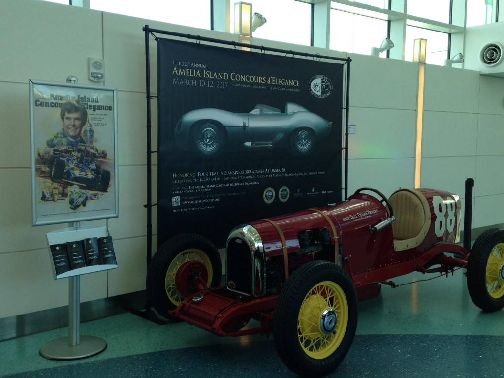Concours Car in Terminal